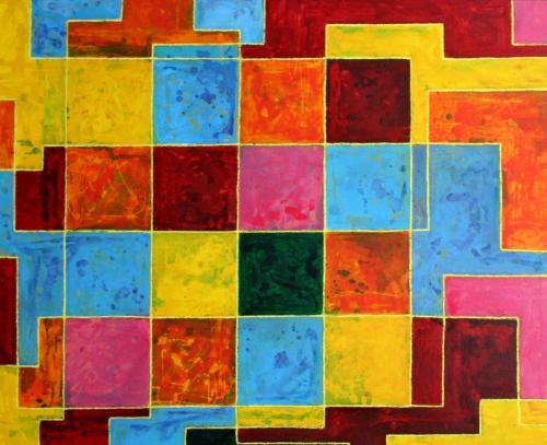 1. Combien y a t-il de carrés ?