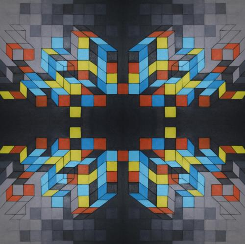 10. Hommage a Vasarely